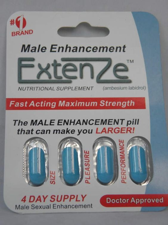 Extenze Extended Release Directions