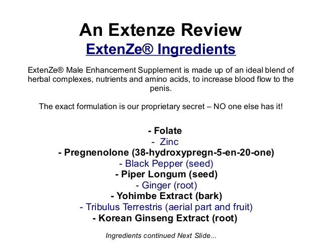 Male Extenze Side Effects