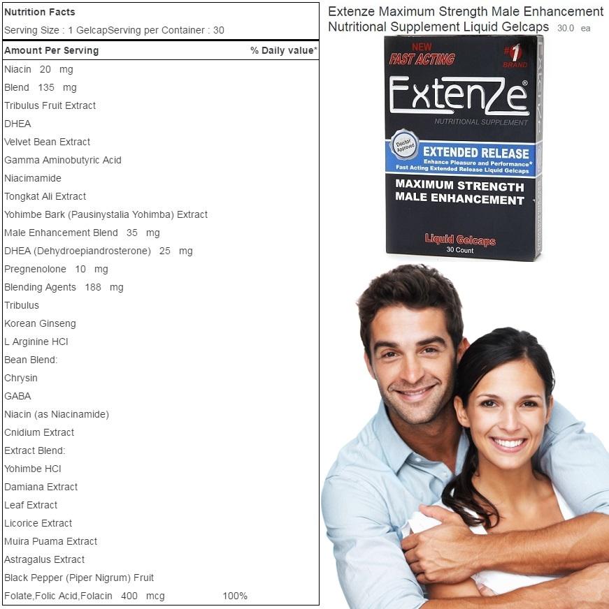 Extenze Pills Info