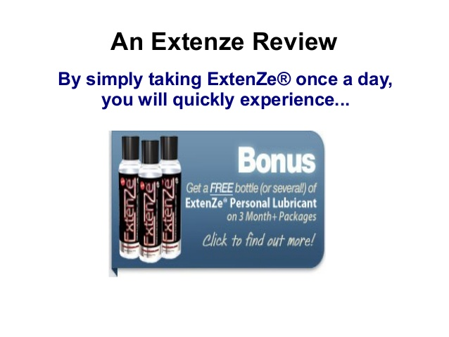 Extenze Reviews Before And After