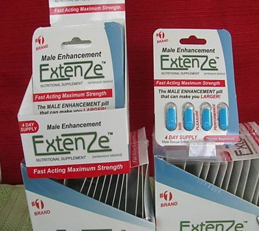 Extenze Fake Real