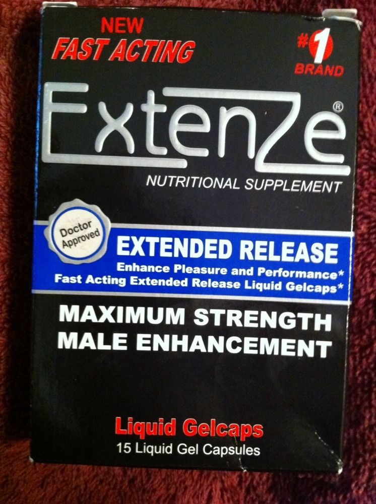 Ingredients For Extenze