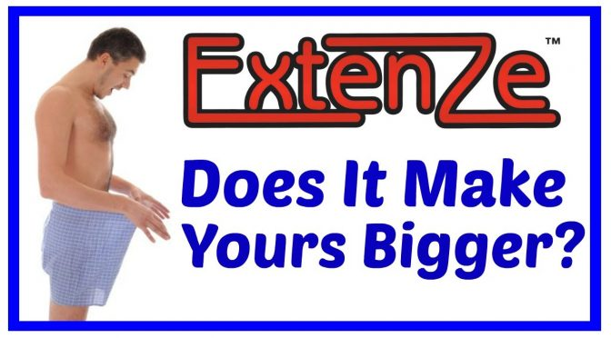 When To Take Extenze Male Enhancement