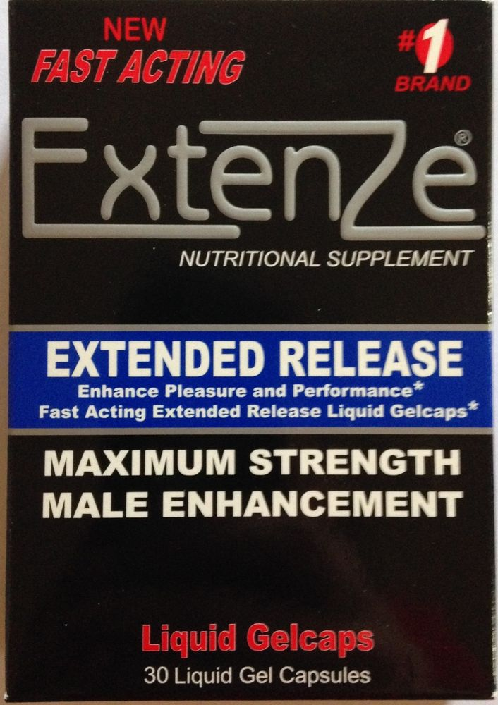 Extenze Enlargement Pills