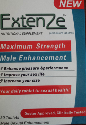 What Does Extenze Bottle Do